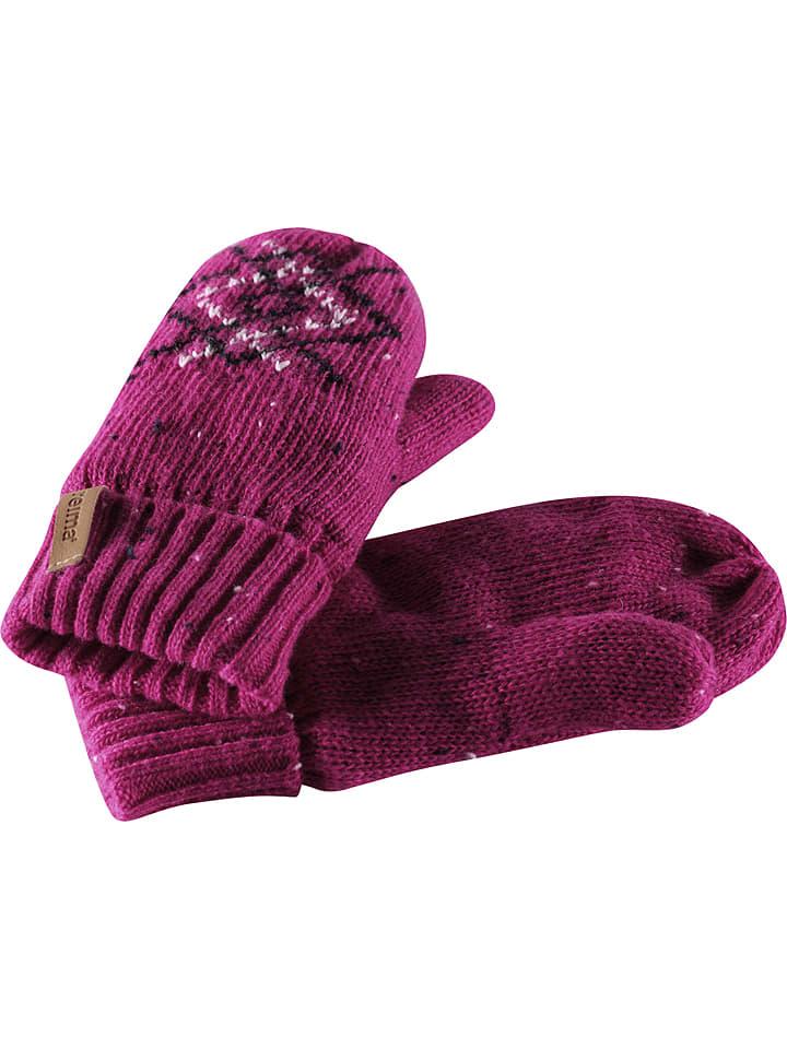 """Reima Rękawiczki """"Mikkeli"""" w kolorze różowym"""