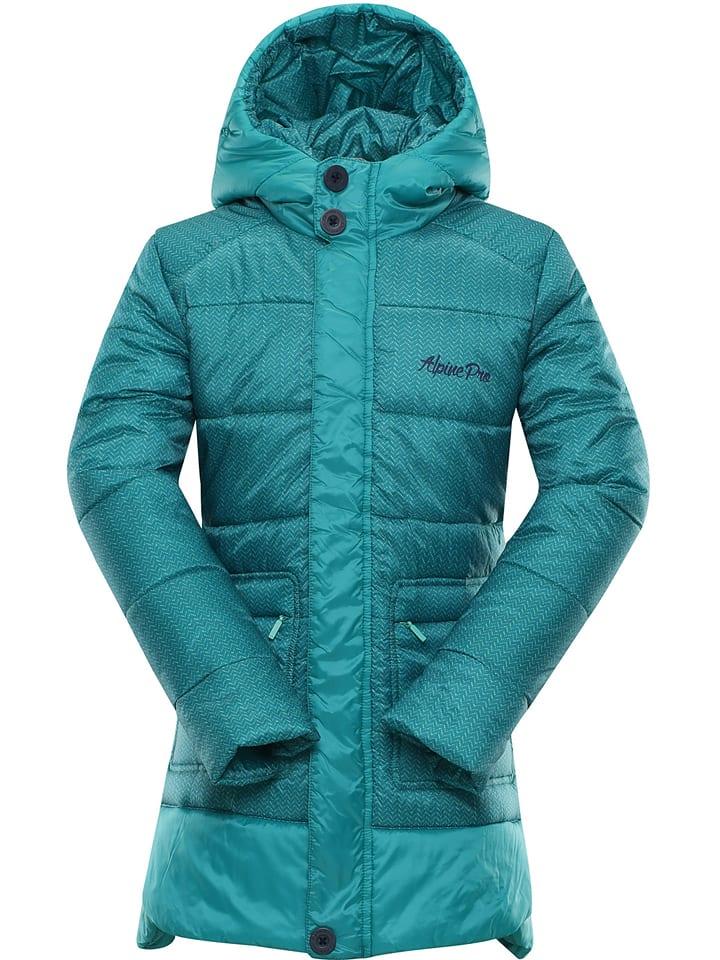 "Alpine Pro Wintermantel ""Omega"" in Türkis"
