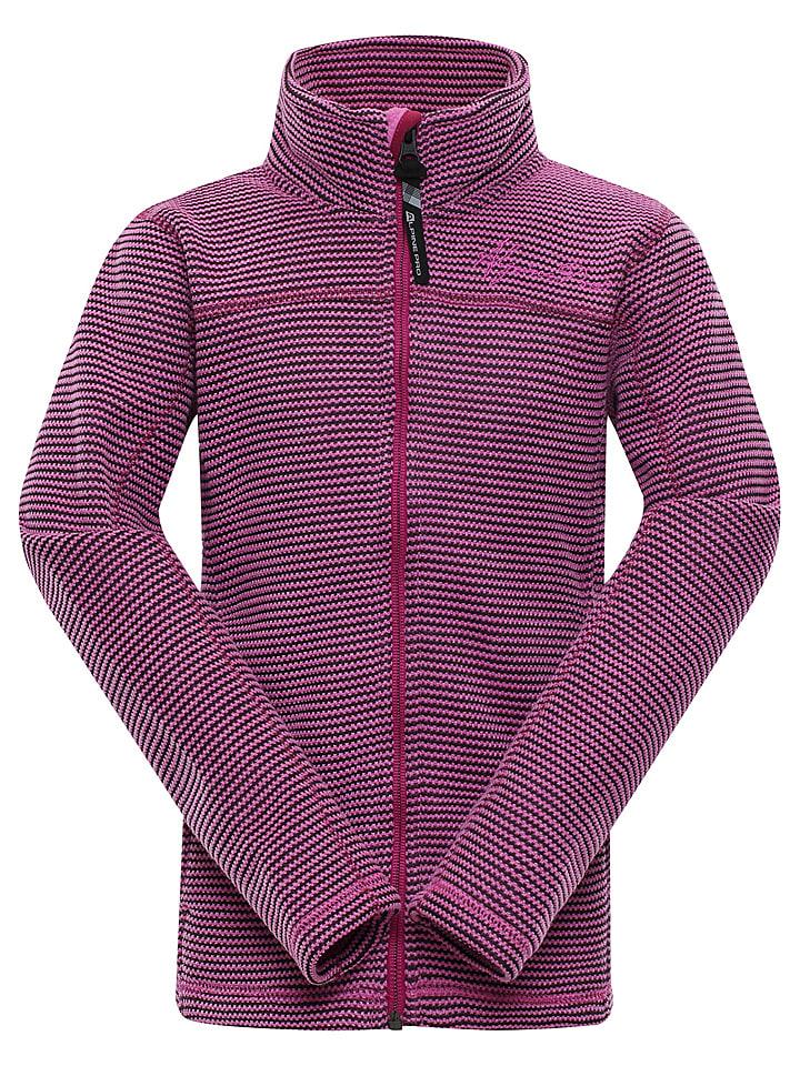 """Alpine Pro Bluza polarowa """"Eneaso"""" w kolorze różowym"""
