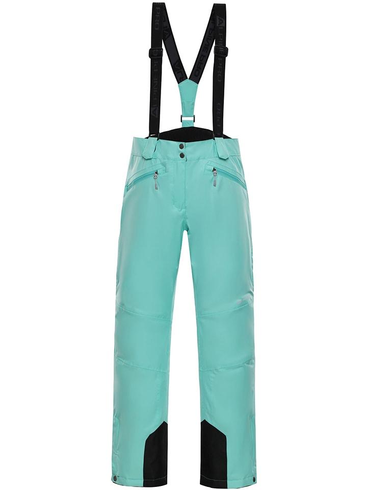 """Alpine Pro Spodnie narciarskie """"Minnie"""" w kolorze turkusowym"""
