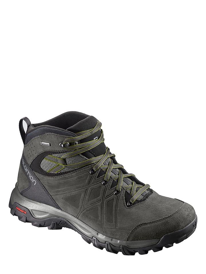 """SALOMON Boots de randonnée en cuir """"Evasion 2 MID LTR GTX®"""" - anthracite"""