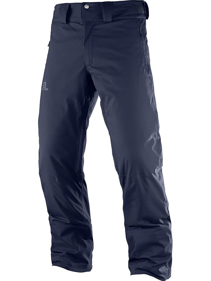 """SALOMON Pantalon de ski/snowboard """"Stromrace"""" - bleu foncé"""