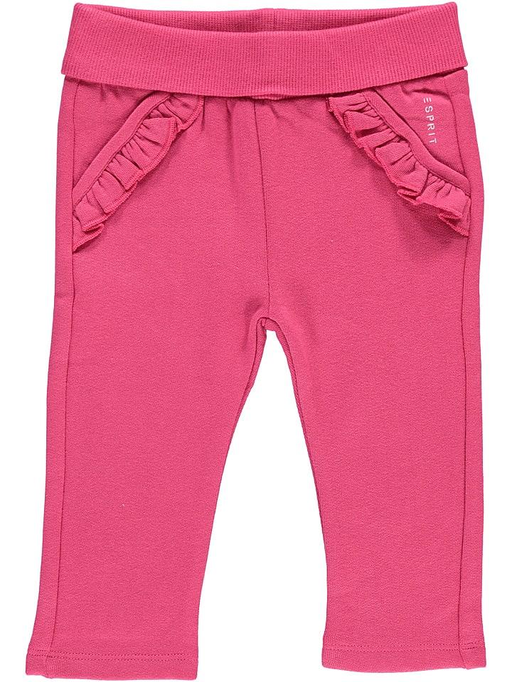 ESPRIT Sweathose in Pink - 43% | Größe 74 | Babyhosen