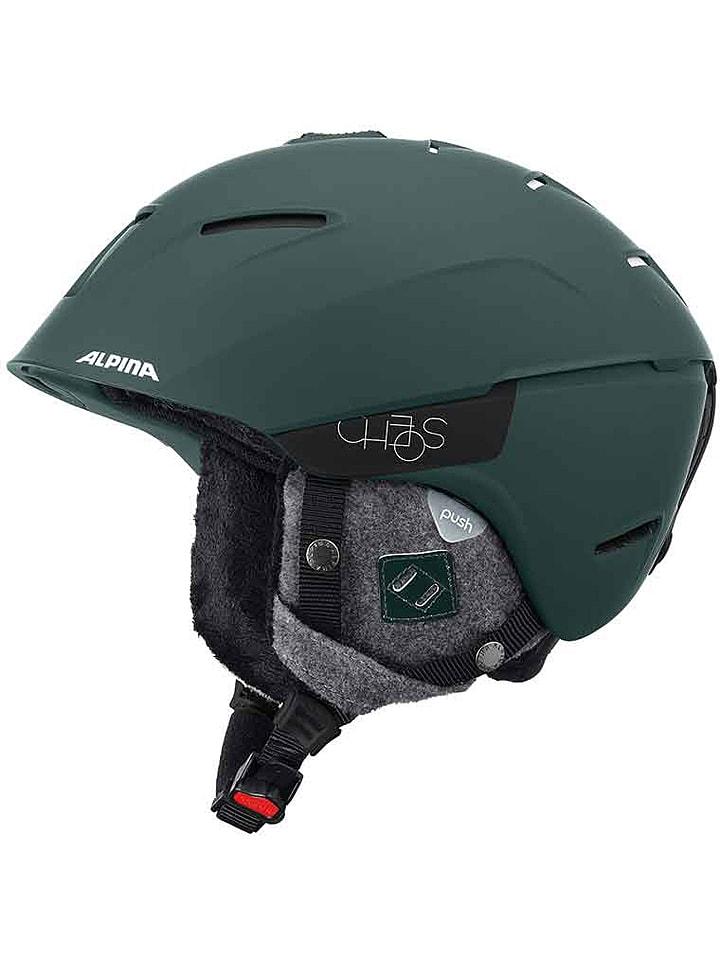 """Alpina Kask narciarski """"Cheos"""" w kolorze zielonym"""