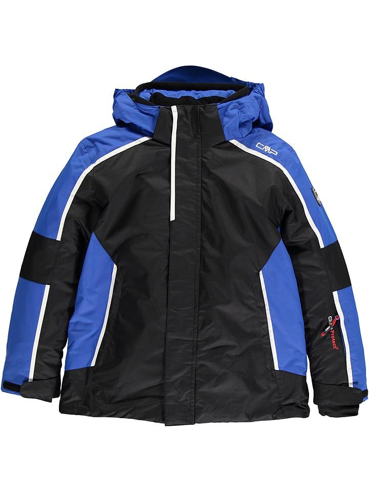 CMP 2tlg. Outfit: Ski-/ Snowboardjacke und -hose in Schwarz | 33% Rabatt | Größe 164 | Kinder outdoor | 08056381017207