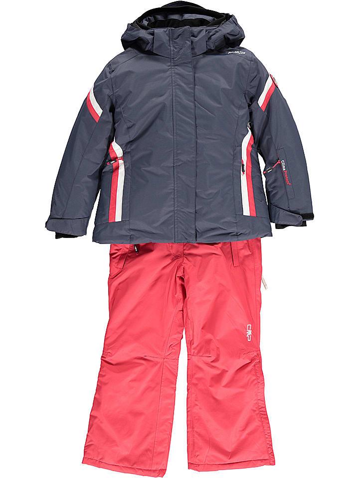 CMP 2tlg. Outfit: Ski-/ Snowboardjacke und -hose in Dunkelblau | 33% Rabatt | Größe 164 | Kinder outdoor | 08056381020245