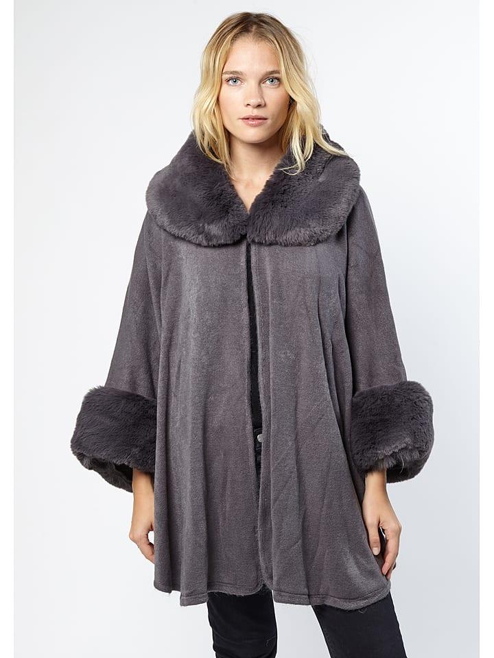 Winter Selection Płaszcz w kolorze szarym