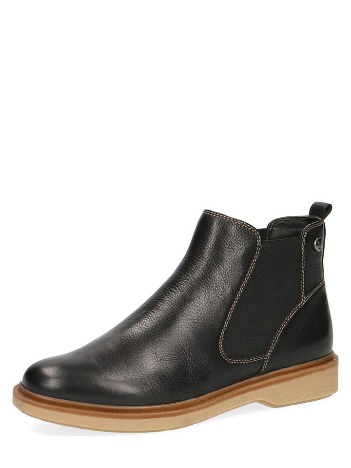 caprice leder ankle boots in schwarz limango outlet. Black Bedroom Furniture Sets. Home Design Ideas