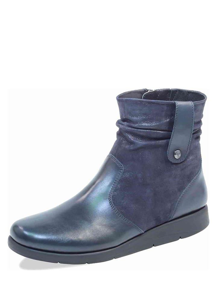 caprice bottines bleu