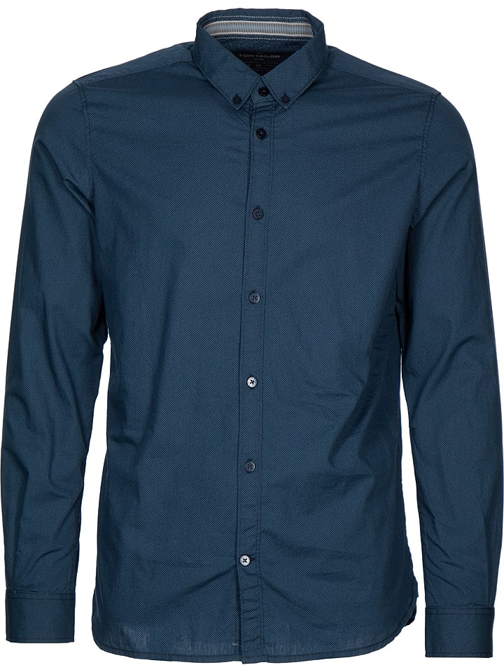 "Tom Tailor Blouse ""Floyd"" blauw"