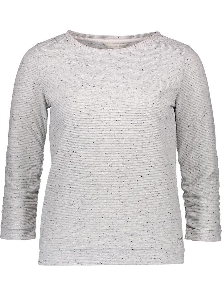 Tom Tailor Sweter w kolorze jasnoszarym