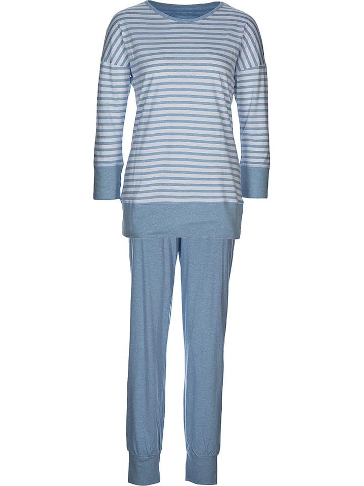 Seidensticker Pyjama in Hellblau