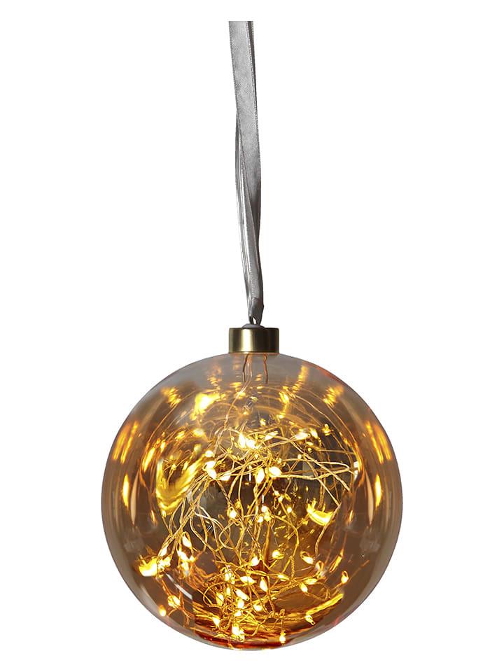 "Best Season LED-Glaskugel ""Glow"" in Warmweiß - Ø 15 cm"