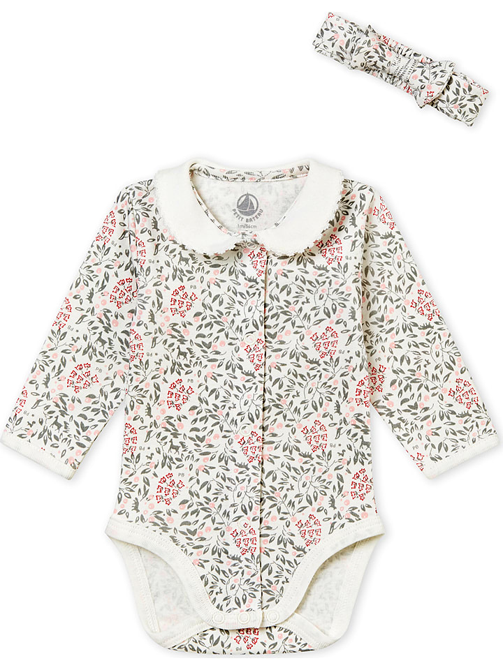 PETIT BATEAU 2tlg. Outfit in Creme