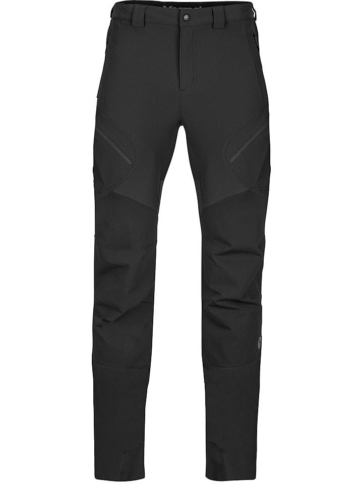 Marmot Spodnie softshellowe w kolorze czarnym