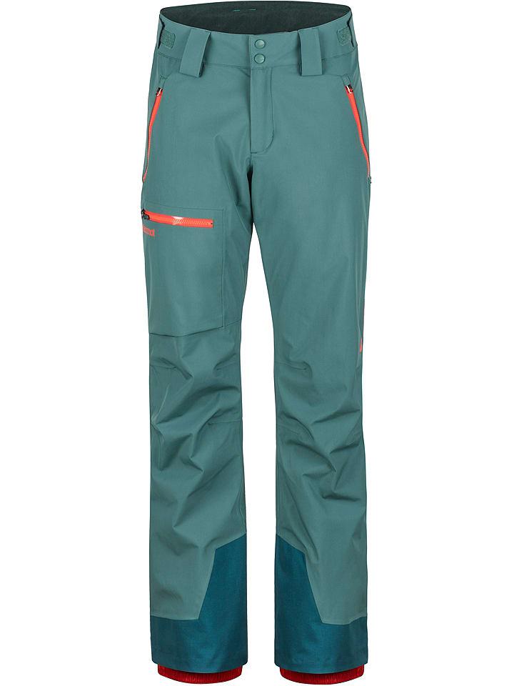 "Marmot Pantalon de ski/snowboard ""Refuge"" - vert pétrole"