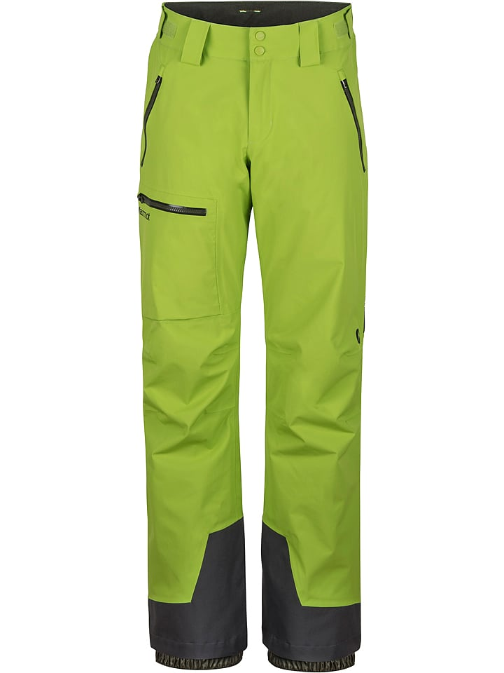 "Marmot Pantalon de ski/snowboard ""Refuge"" - vert"
