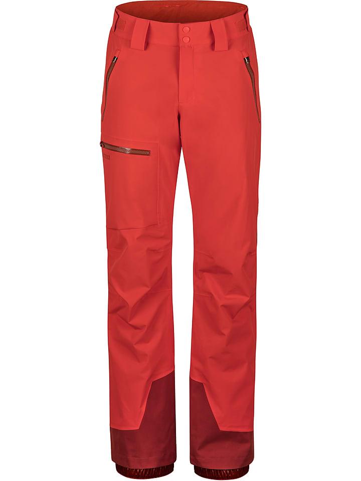 """Marmot Pantalon de ski/snowboard """"Refuge"""" - rouge"""