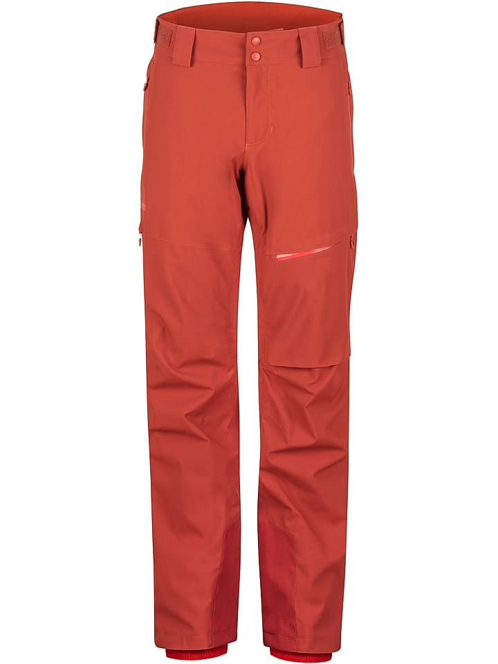 "Marmot Pantalon de ski/snowboard ""Layout Cargo"" - rouge"