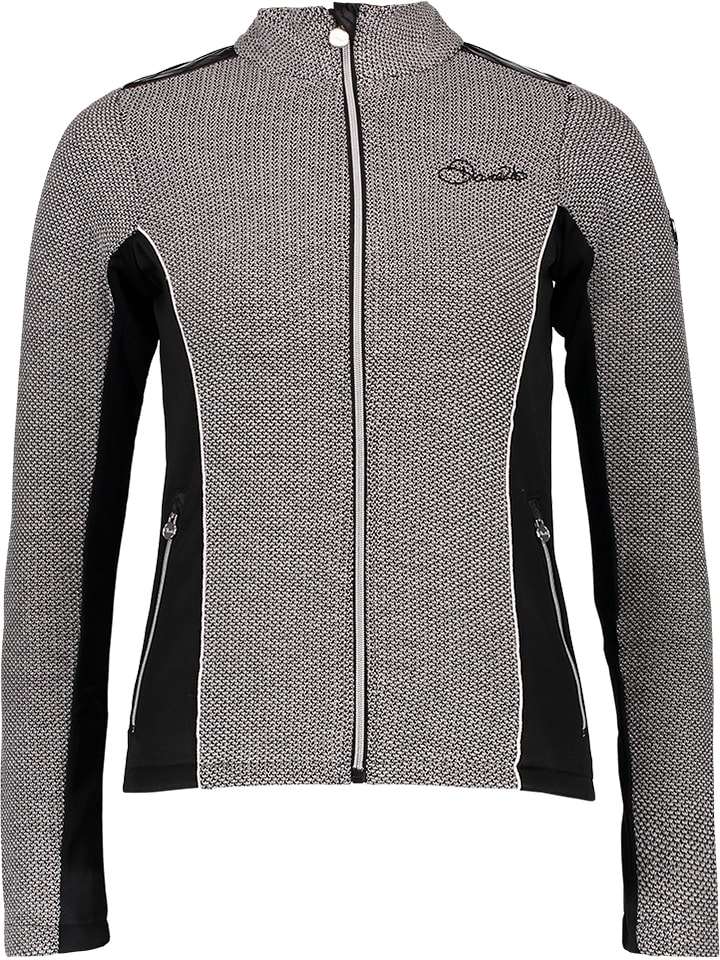 "Dare 2b Sweat zippé ""Ambience"" - noir/blanc"