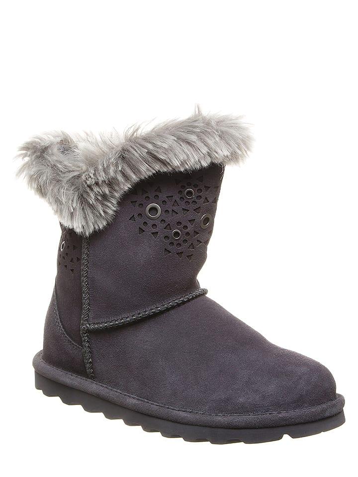 """Bearpaw Leder-Winterboots """"Andrea"""" in Grau"""