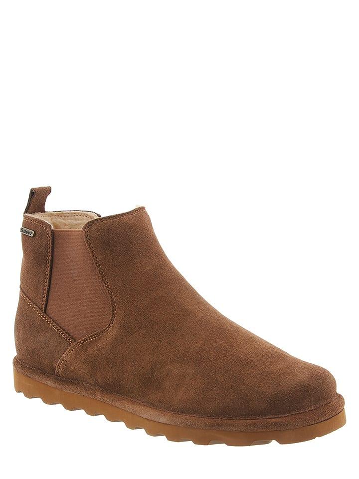 "Bearpaw Leder-Chelsea-Boots ""Marcus"" in Hellbraun"