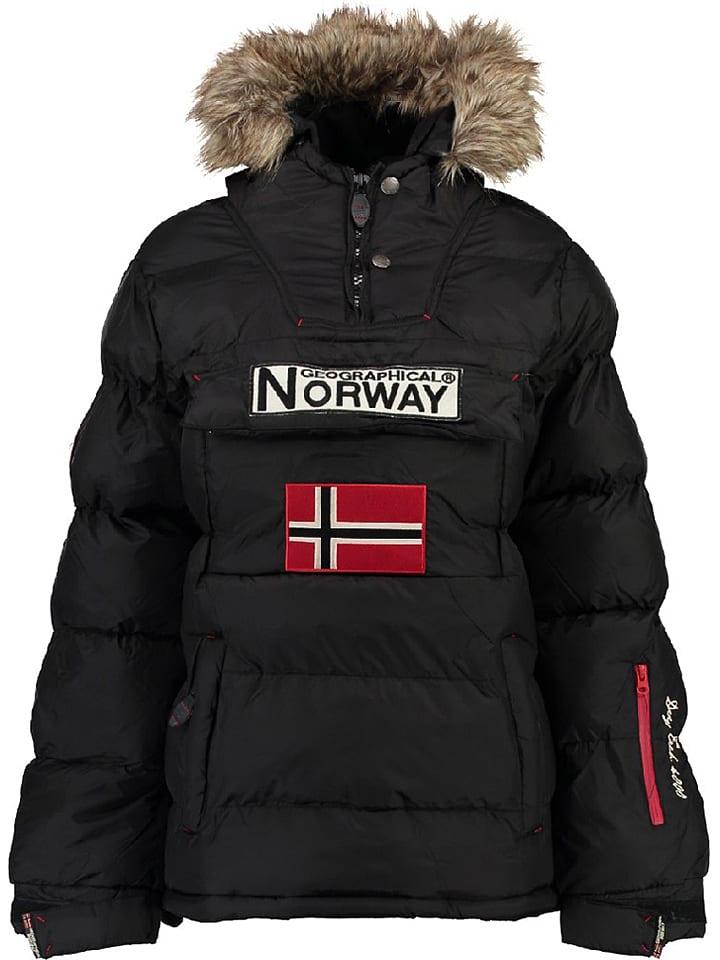 """Geographical Norway Kurtka zimowa """"Bianca"""" w kolorze czarnym"""