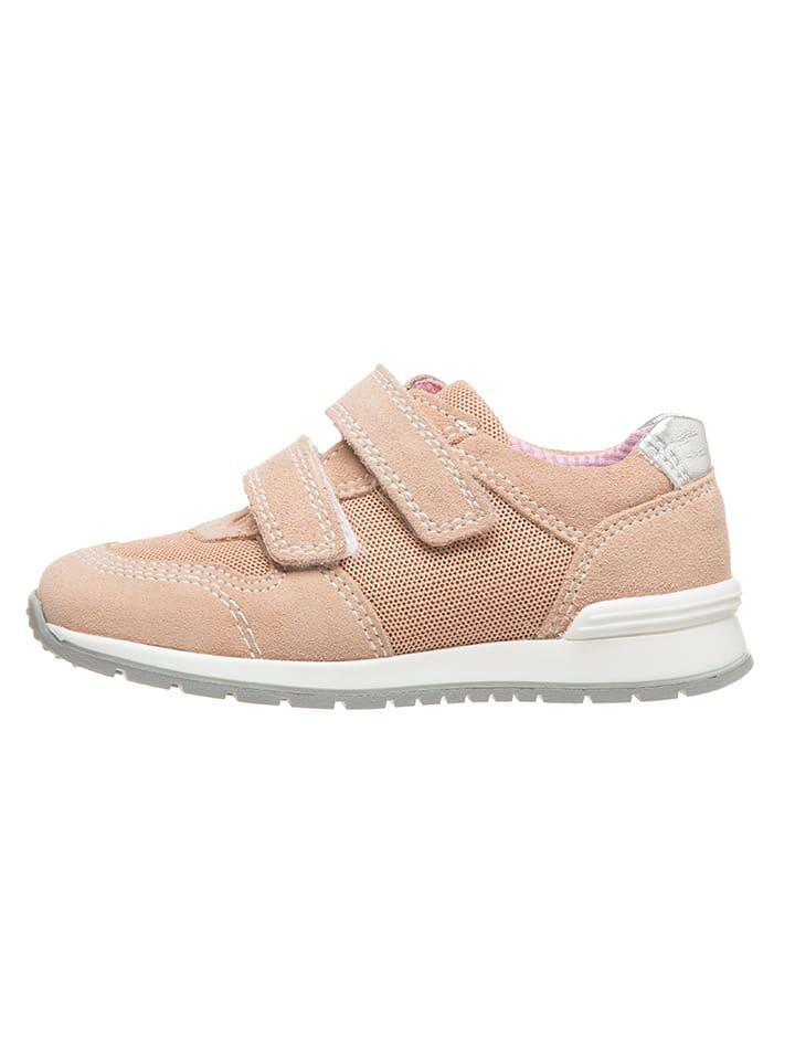 Richter Shoes Sneakersy w kolorze jasnoróżowym