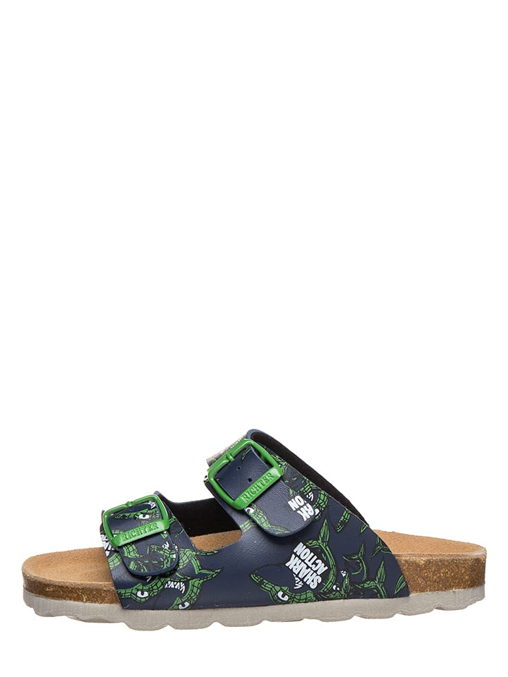 Richter Shoes Mules - bleu foncé