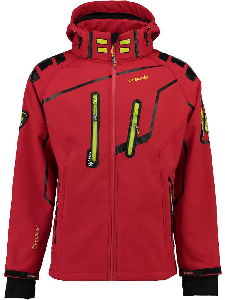 """Canadian Peak Kurtka softshellowa """"Trillo"""" w kolorze czerwonym"""