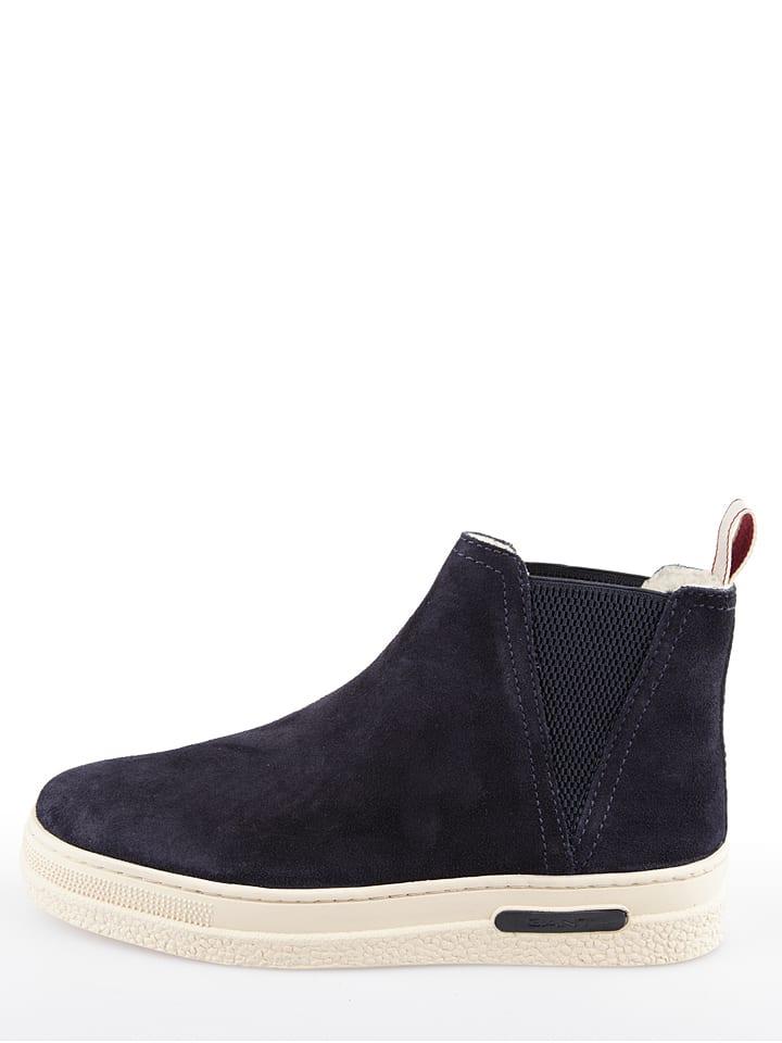 """GANT Footwear Boots chelsea en cuir """"Maria"""" - bleu foncé"""