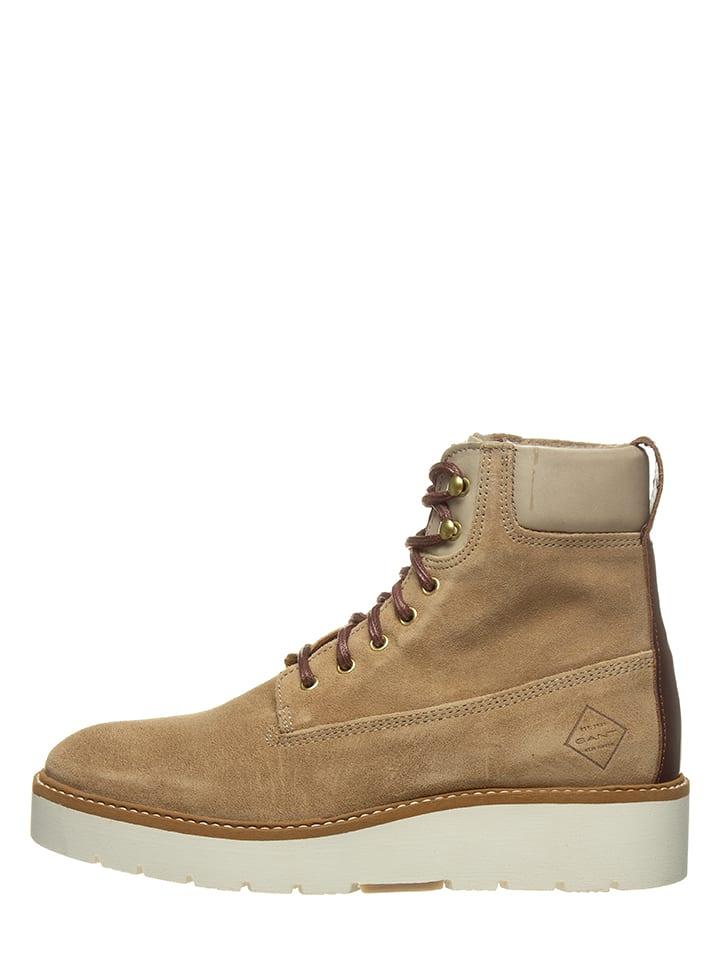 "GANT Footwear Boots en cuir ""Casey"" - beige"