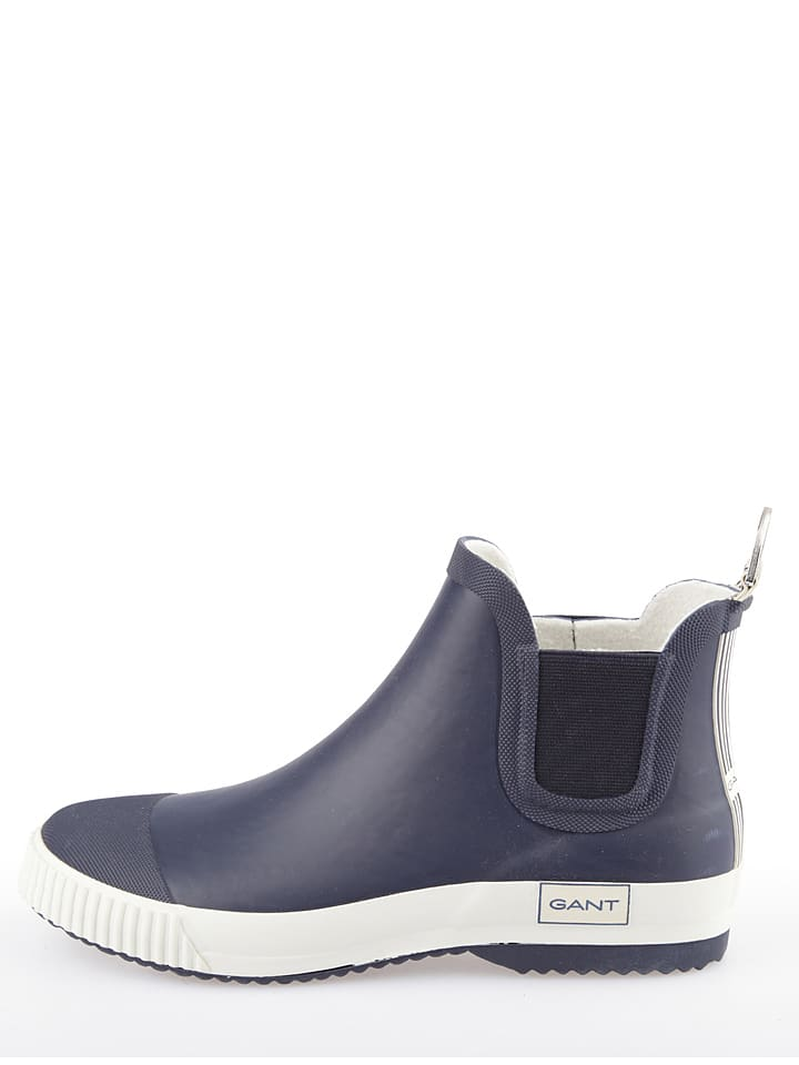 "Gant Gummi-Chelsea-Boots ""Mandy"" in Dunkelblau"