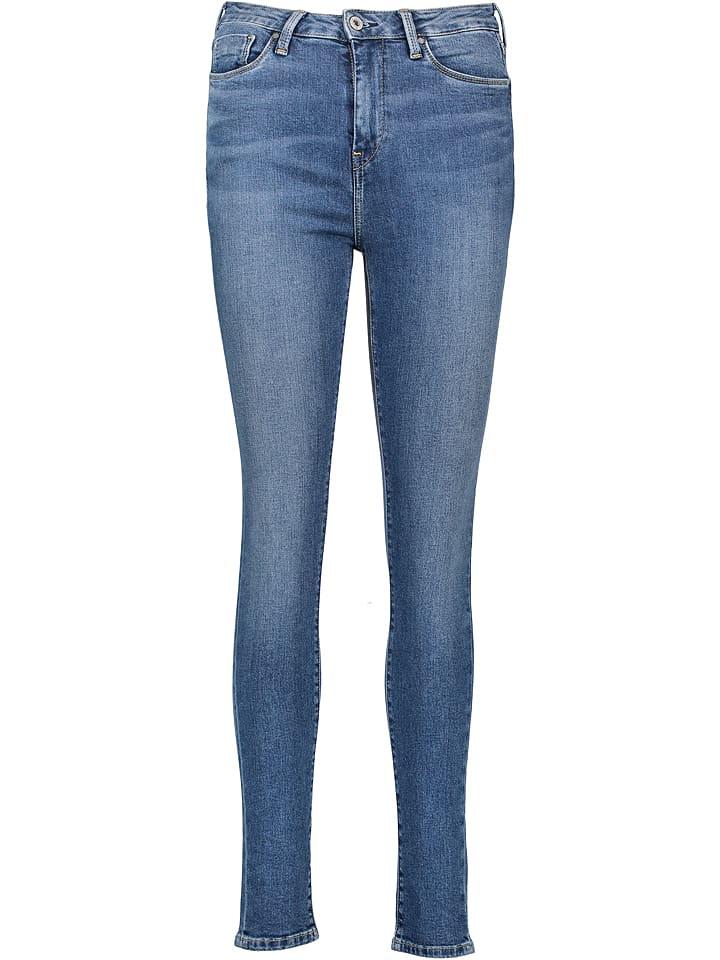 Pepe Jeans Dżinsy - Skinny fit - w kolorze niebieksim