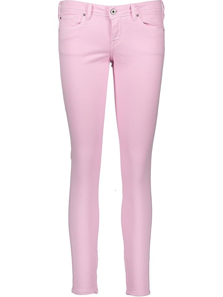 Pepe Jeans Dżinsy - Slim fit - w kolorze jasnoróżowym
