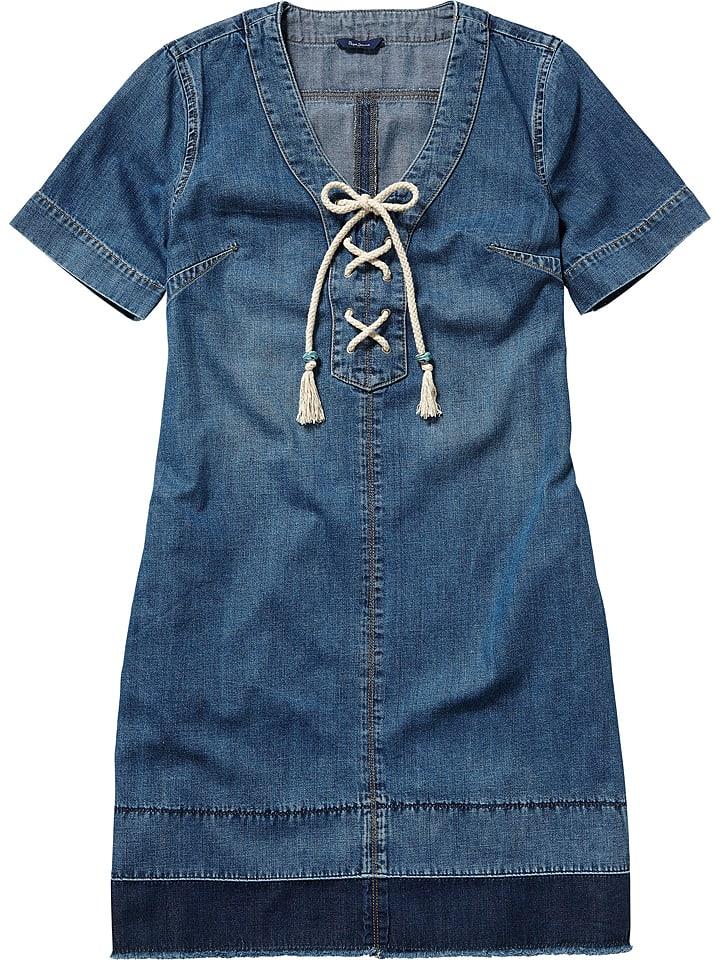 """Pepe Jeans Sukienka dżinsowa """"Sailaway"""" w kolorze niebieskim"""