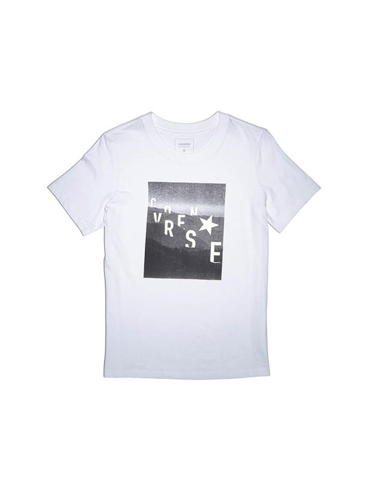 Converse T-shirt w kolorze białym