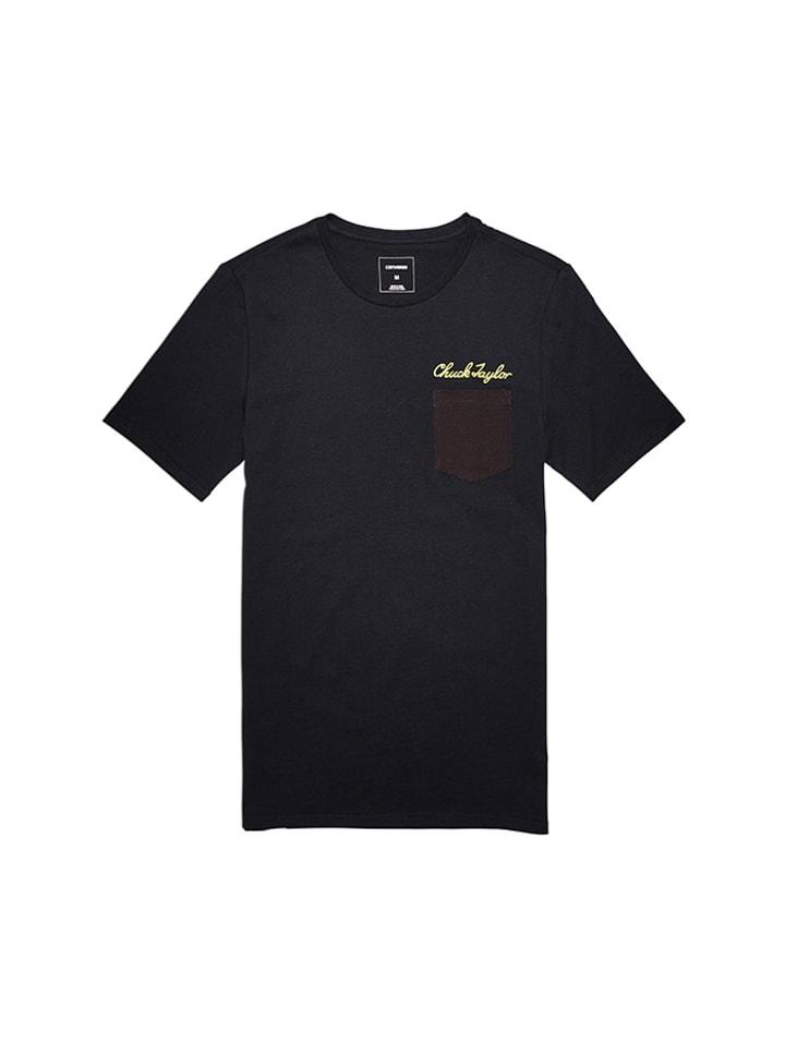 Converse T-shirt w kolorze czarnym