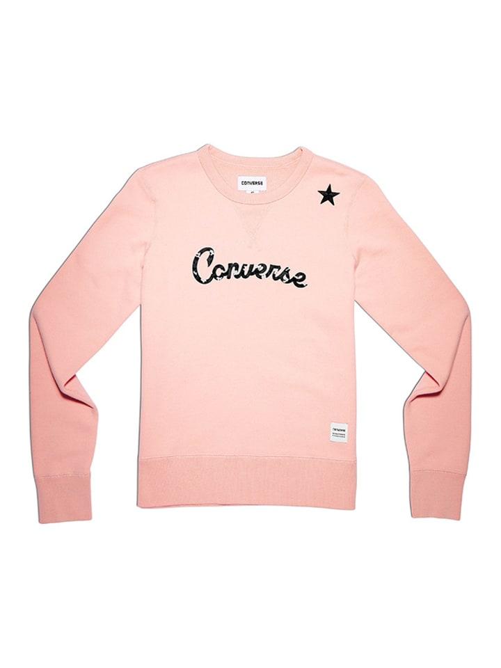Converse Bluza w kolorze jasnoróżowym
