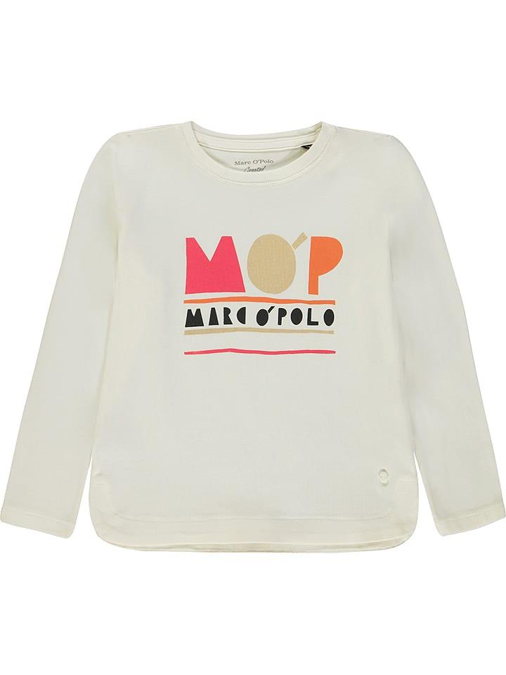 Marc O'Polo Junior Koszulka w kolorze białym