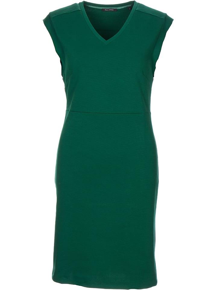 Marc O'Polo Sukienka w kolorze zielonym