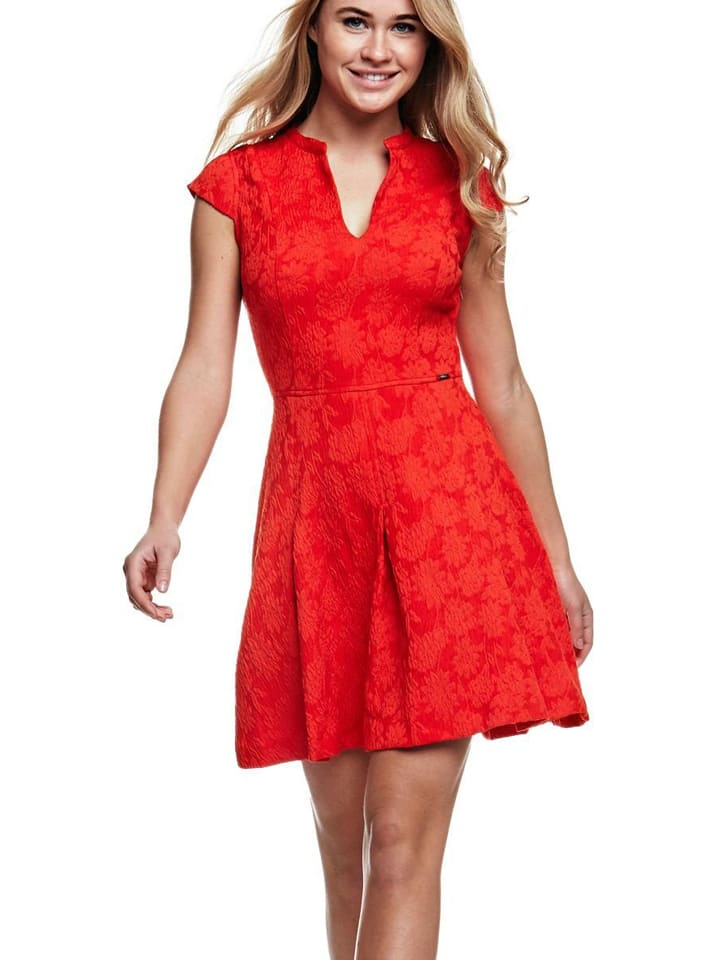 f07c08d2865718 Guess - Kleid in Rot
