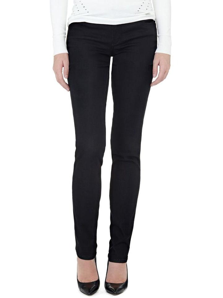 Guess Dżinsy - Slim fit - w kolorze czarnym