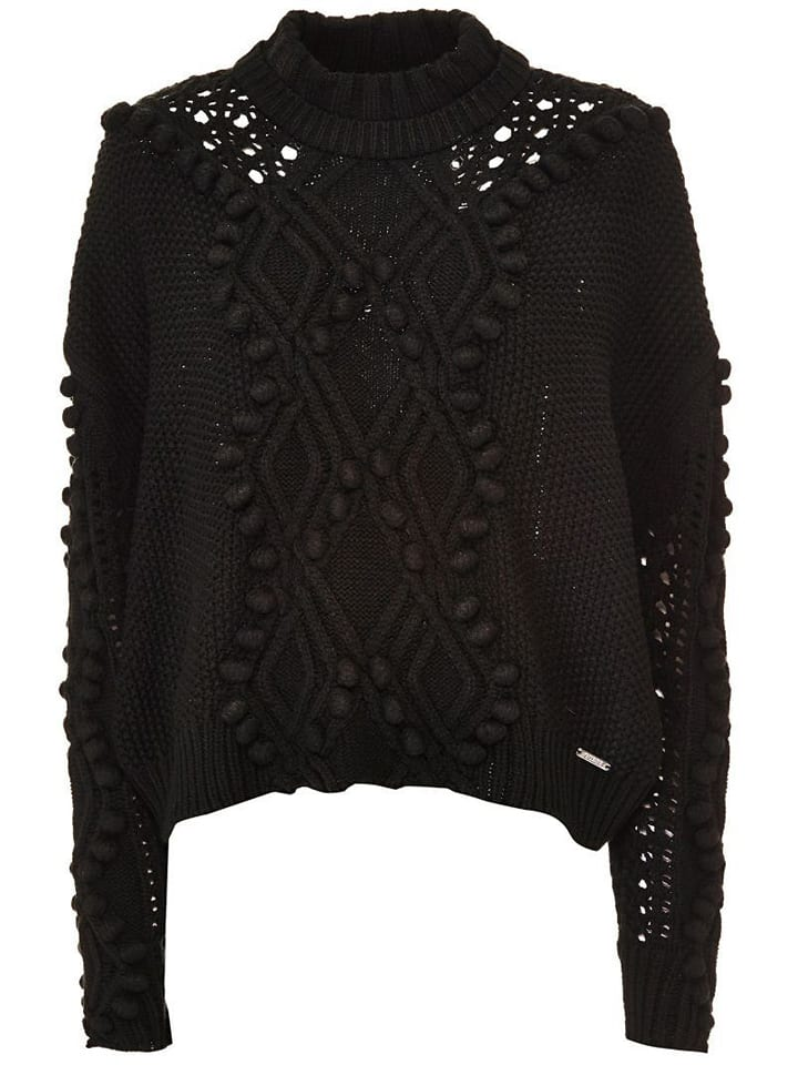 Guess Sweter w kolorze czarnym