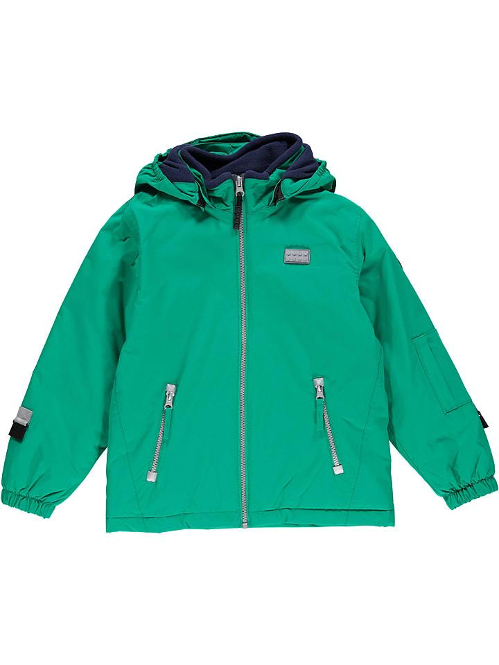 """Legowear Kurtka narciarska """"Jakob 777"""" w kolorze zielonym"""