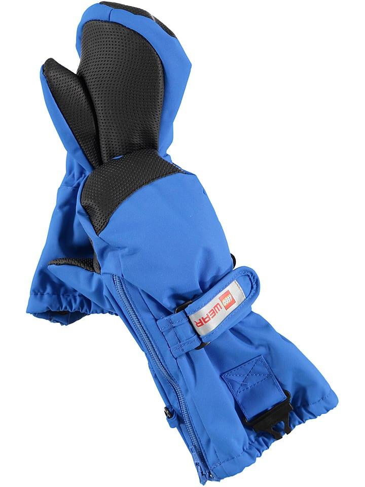 """Legowear Rękawiczki """"Andrew 702"""" w kolorze niebieskim"""