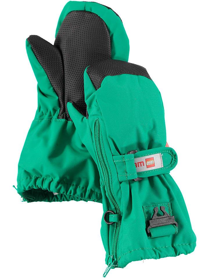 """Legowear Rękawiczki """"Andrew 702"""" w kolorze zielonym"""