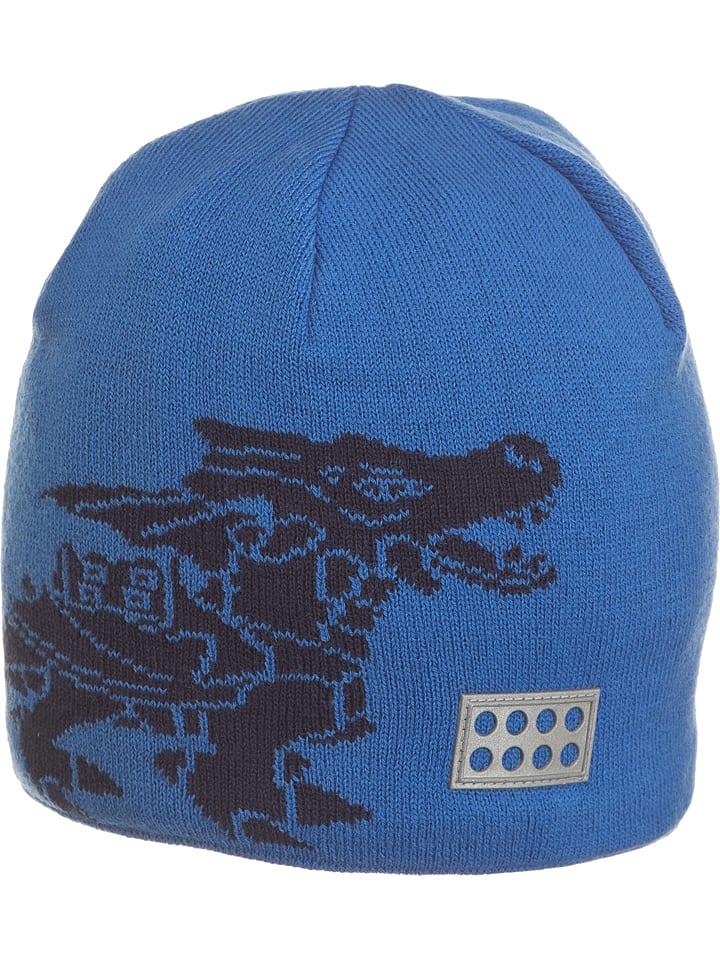 """Legowear Czapka """"Andrew 717"""" w kolorze granatowo-niebieskim"""