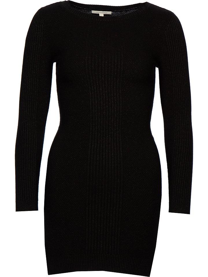 Tom Tailor Sukienka w kolorze czarnym
