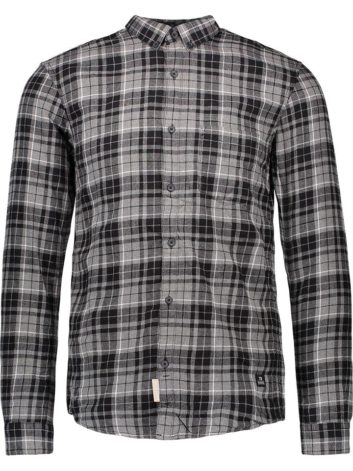Tom Tailor Koszula w kolorze ciemnoszarym